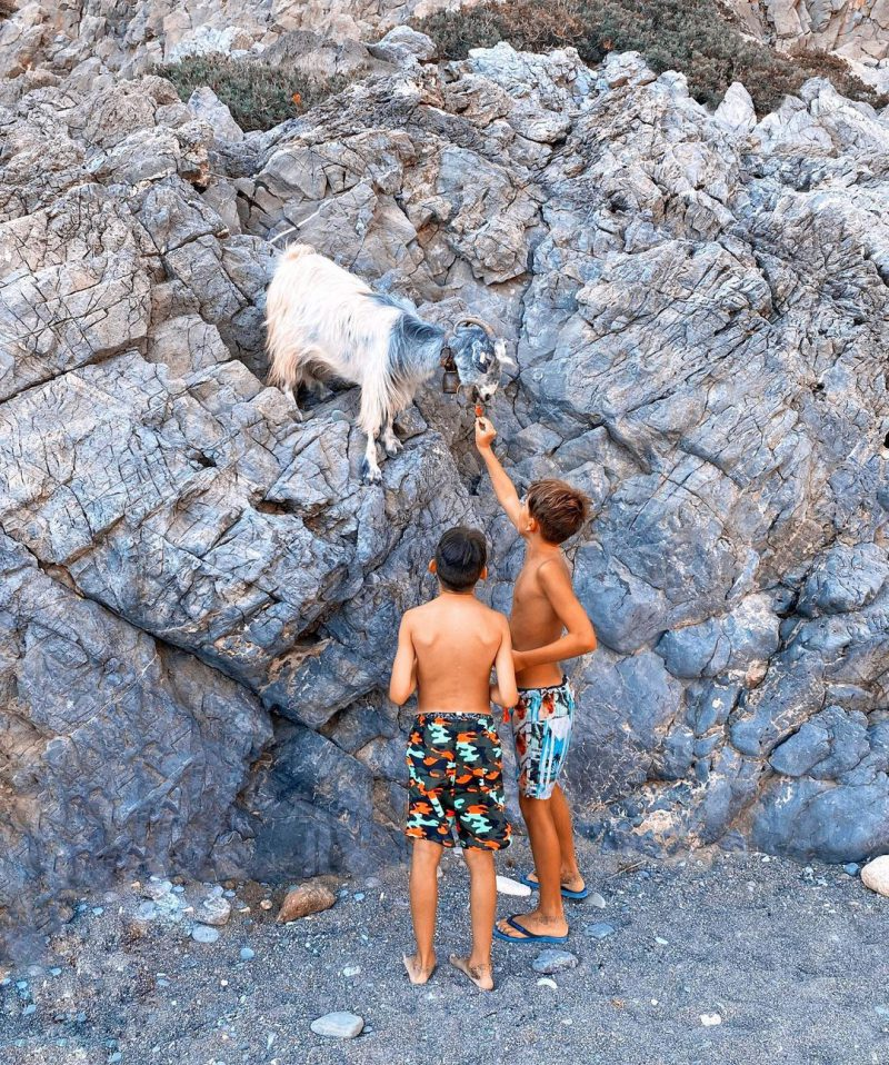 Wandern mit Kindern auf Kreta
